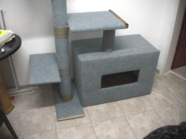 Фото кошачий дом своими руками
